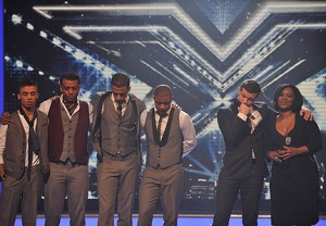 British Boy Band JLS (Left) in The Bottom 3 of British Talent Show XFactor
