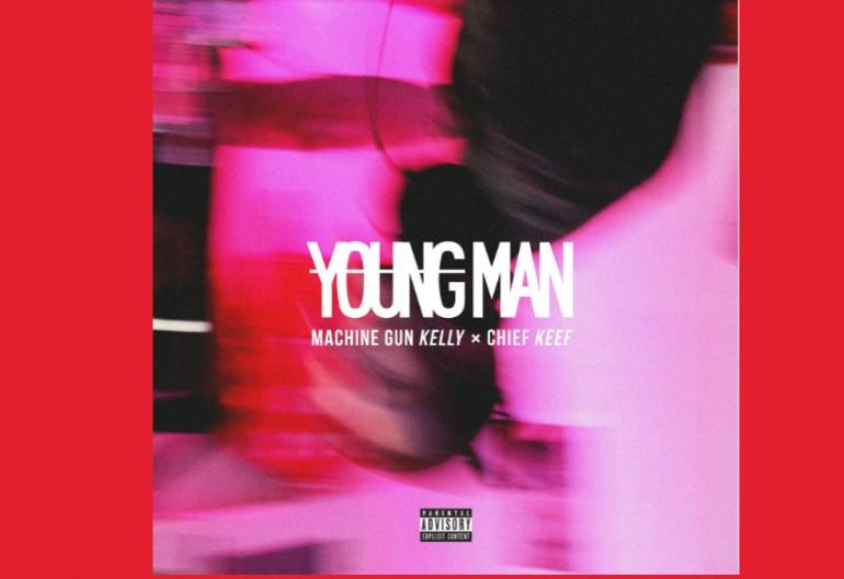 young man album art