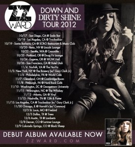 "ZZ Ward ""Dirty Shine"" Tour (All Dates)"