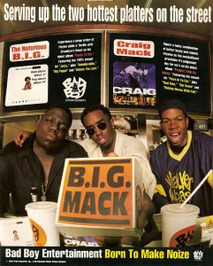 The Notorious B Ig Puff Daddy Craig Mack
