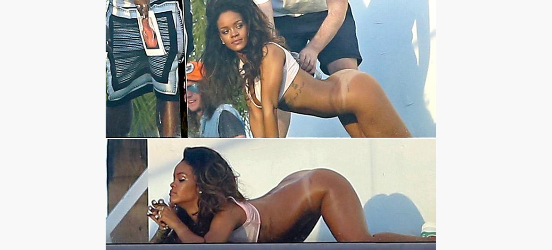 Rihanna Naked Photoshoot